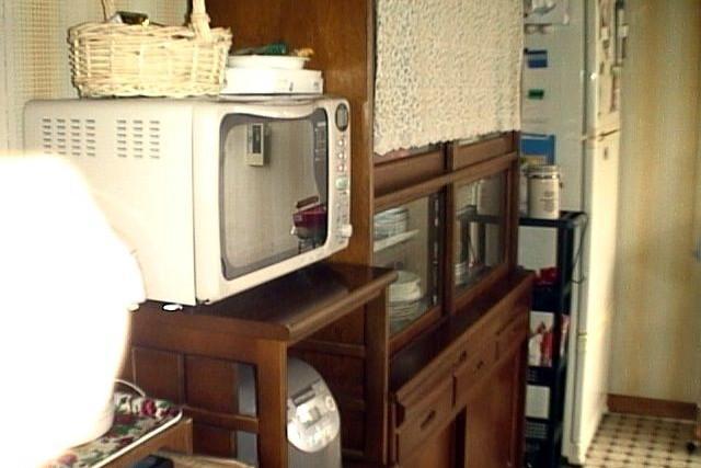 台所に置かれた家電