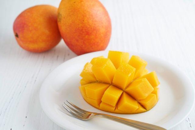完熟のマンゴー